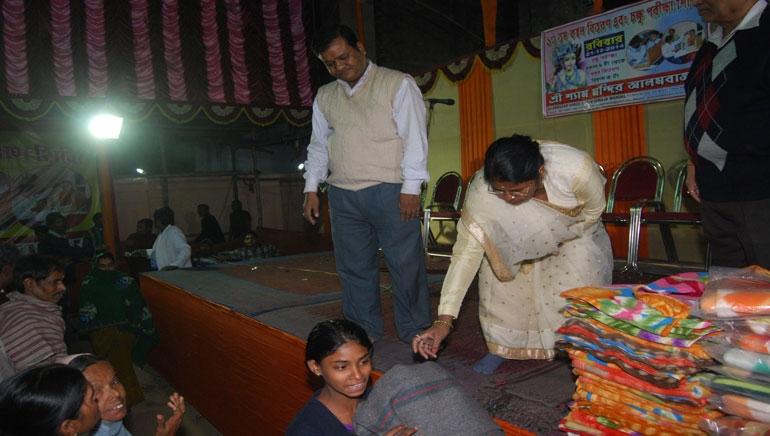 Blanket Distribution 2014
